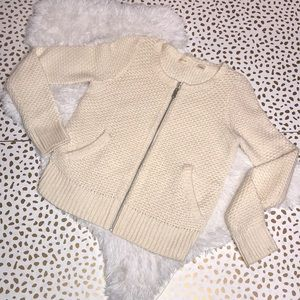 Sleeping on Snow Anthro Branna Zipper Cardigan